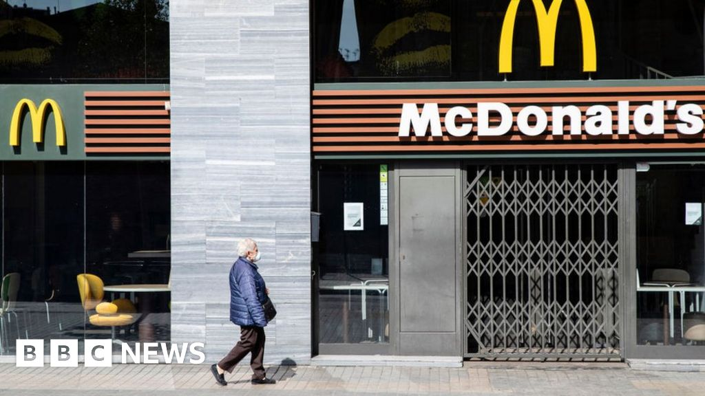 McDonald's sales dip just 3.4% as US stores stay open