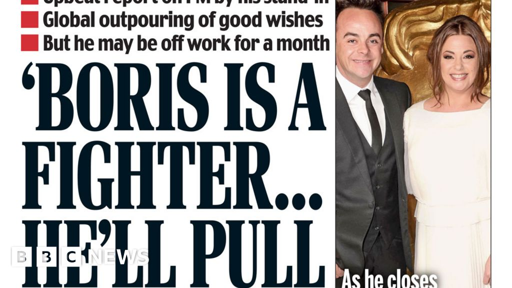 The Papers: 'Boris is a fighter' and 'PM power vacuum fears'