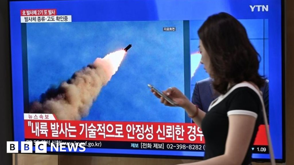 North Korea may have fired missile from submarine