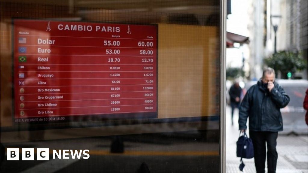 Argentine peso and markets plunge after shock vote
