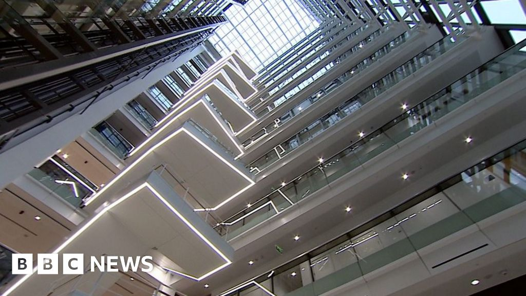 Inside HSBC's new Birmingham HQ