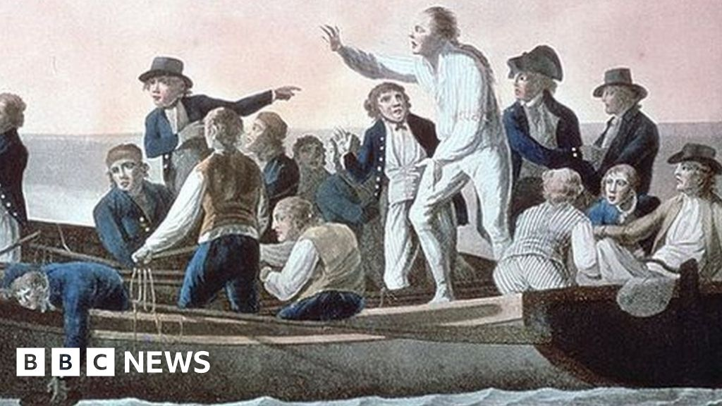 Mutiny on the Bounty captain's watch auctioned