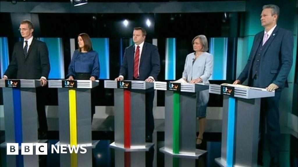 Welsh politicians clash in TV general election debate