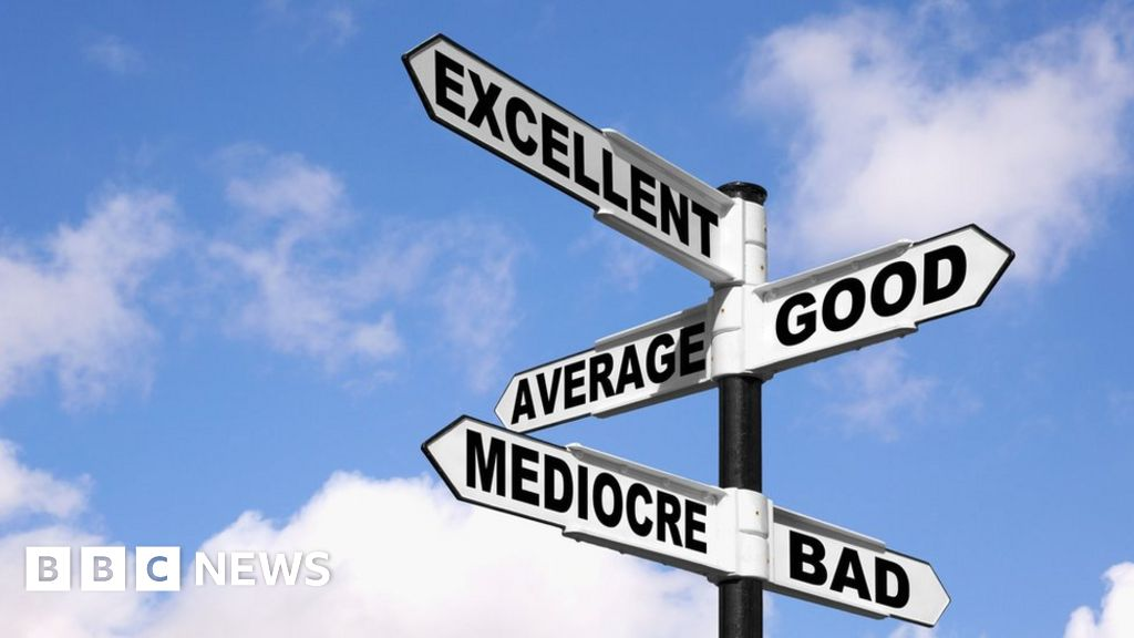 How to be mediocre and be happy with yourself - BBC News