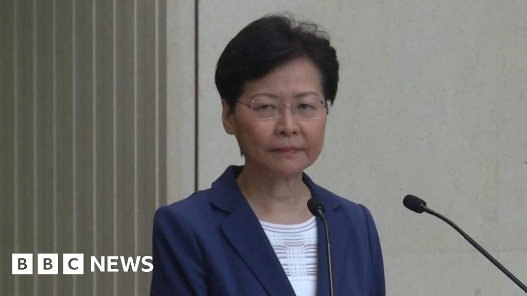 Hong Kong: Carrie Lam pressed on her power to withdraw extradition bill