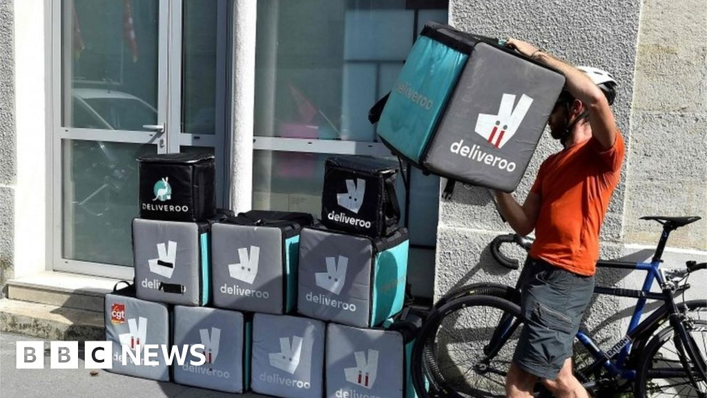 Deliveroo makes huge loss on food delivery business - BBC News