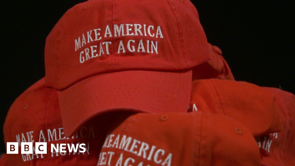 f0f528cb What does this hat mean to Americans? - BBC News
