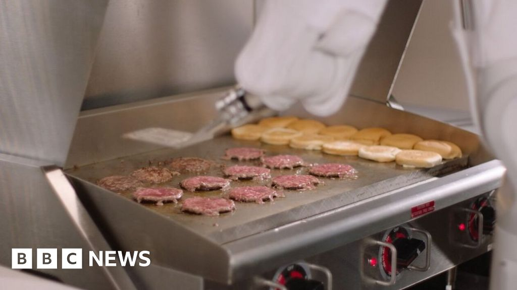 Burger-flipping Robot Takes Short Break