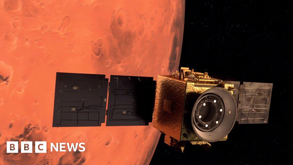 Emirates Mars Mission: Hope probe lines up historic Mars manoeuvre - BBC News