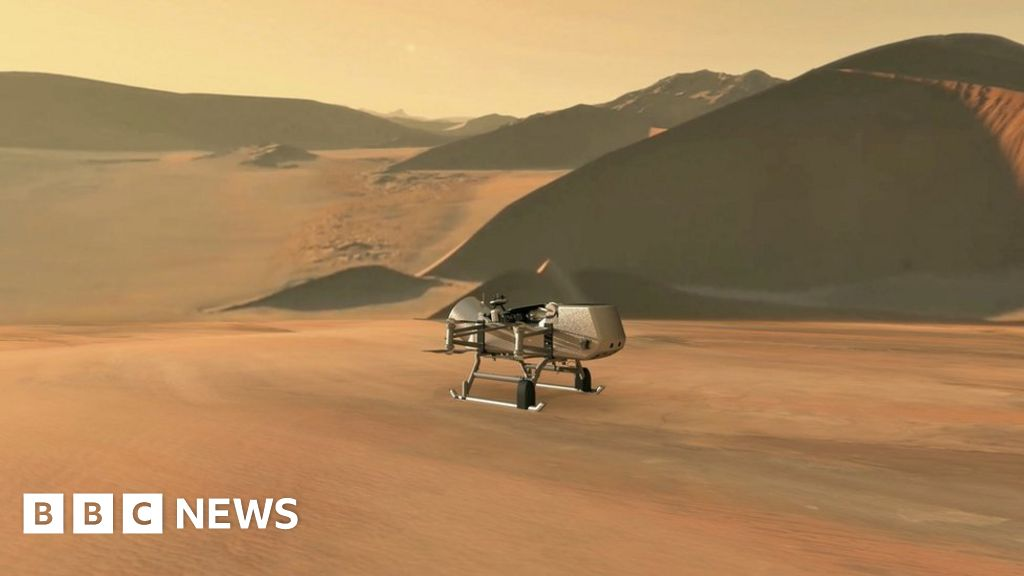 Dragonfly: Drone helicopter to fly on Saturn's moon, Titan