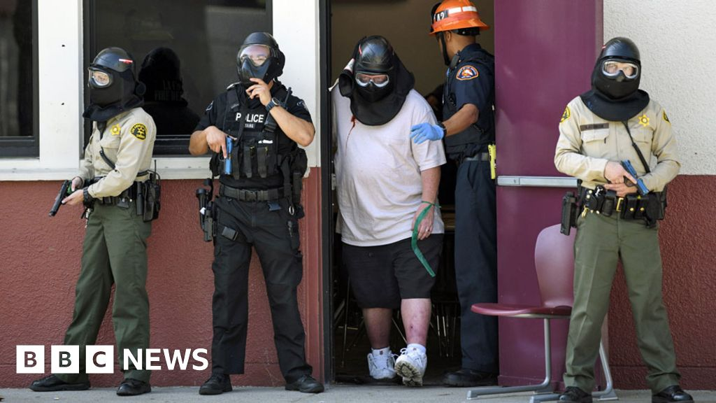 The Worst Victims Of Education >> 2018 Worst Year For Us School Shootings Bbc News