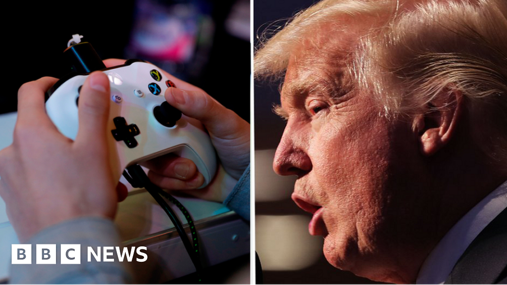 Bbc News Twitter: Twitter Users Mock Trump For Linking Video Games To Gun