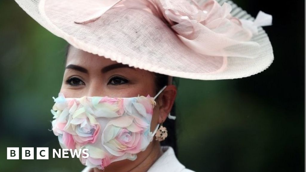 Royal Ascot Ladies' Day 2021: Masks and millinery