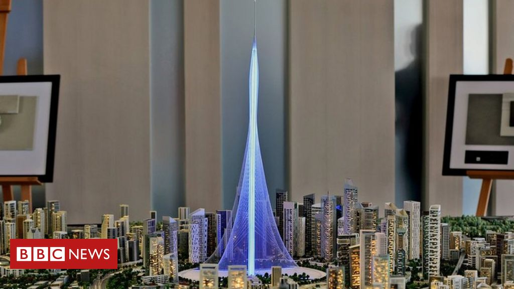 New Dubai Tower To Surpass World S Tallest Building Burj Khalifa Bbc News