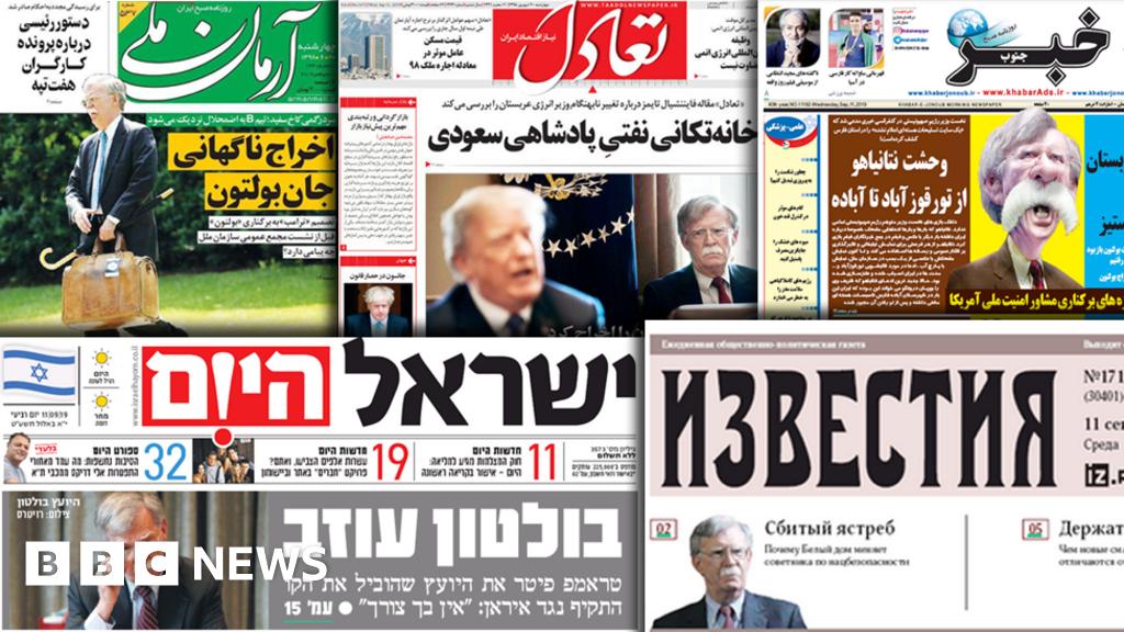 World media hot-spots judge John Bolton's legacy