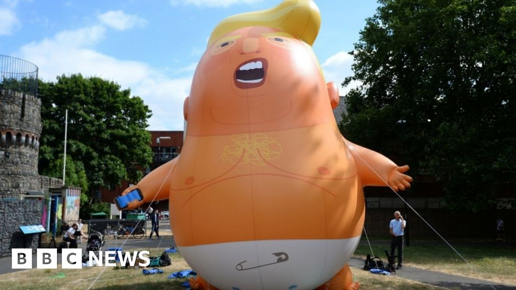 'Trump Baby' balloon heading to Scotland