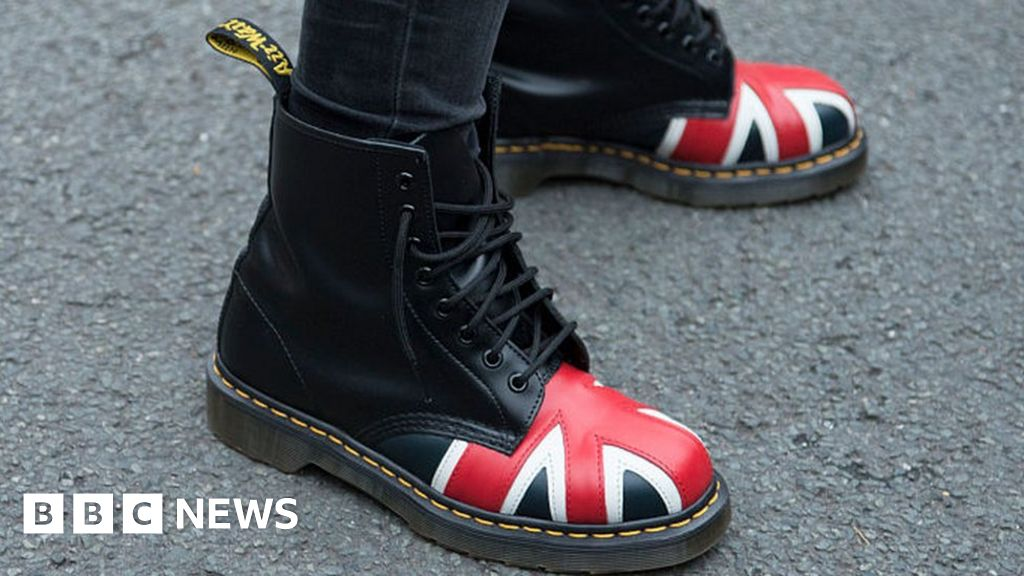 dca01e6cf4524 Dr Martens  profits march forward - BBC News