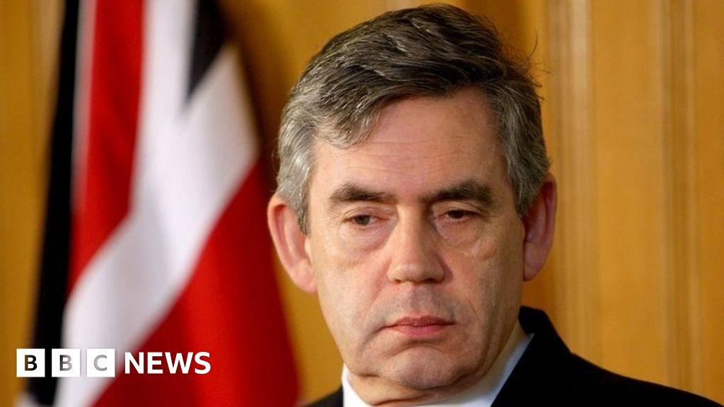 Gordon Brown Reveals Fight For Eyesight In New Memoir Bbc News