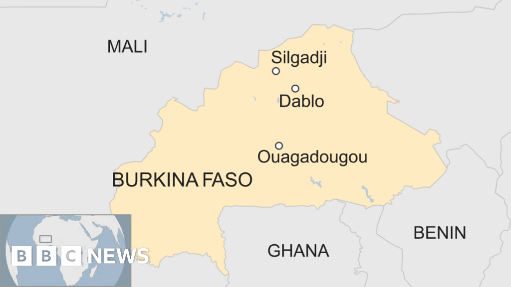 Gunmen kill six in church in Burkina Faso