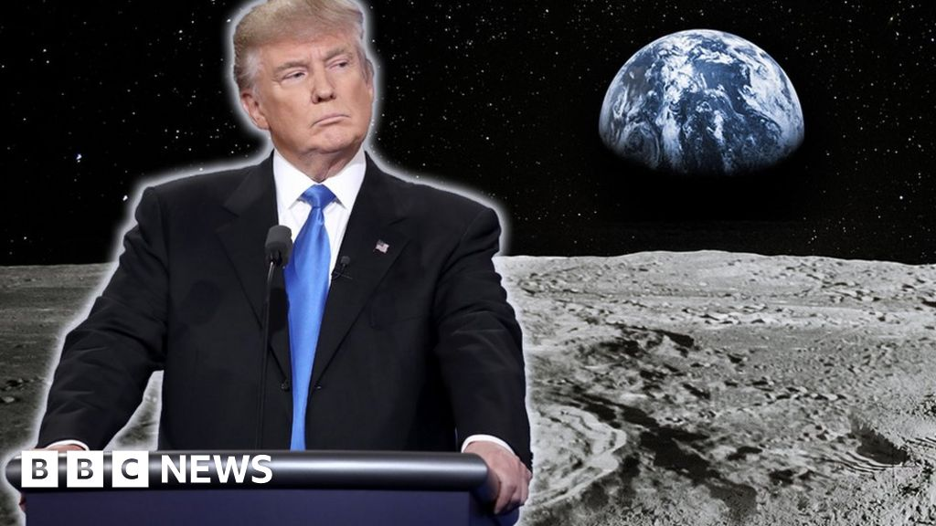 Why is the President Trump mine on the moon want?