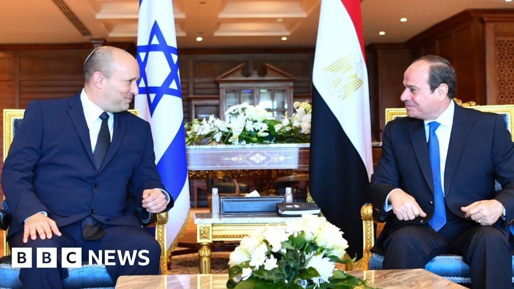 , Naftali Bennett makes first visit to Egypt by an Israeli PM in a decade, The World Live Breaking News Coverage & Updates IN ENGLISH