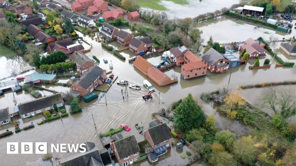 England flooding: More rain due as disruption continues