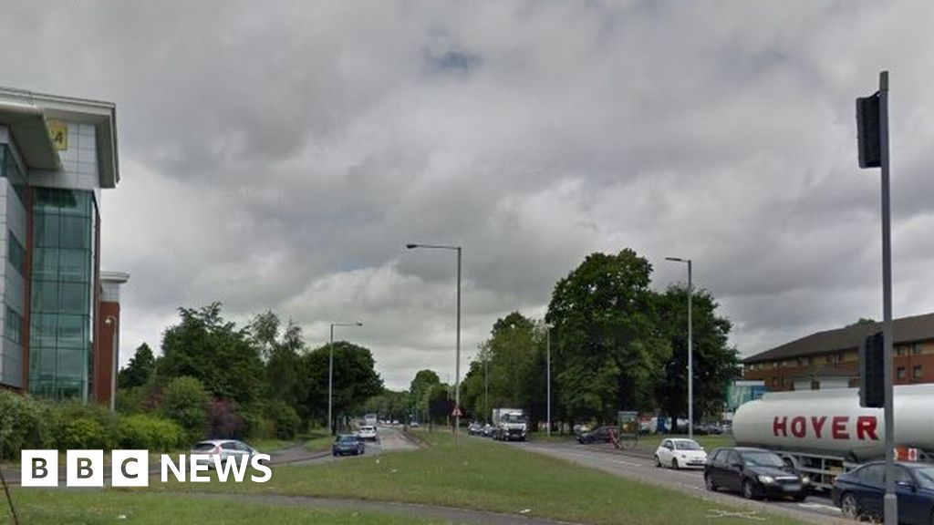 West Midlands police officer hit by car while at scene of crash