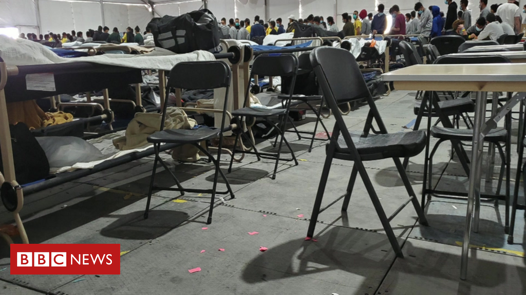 'Heartbreaking' conditions in US migrant child camp – BBC News