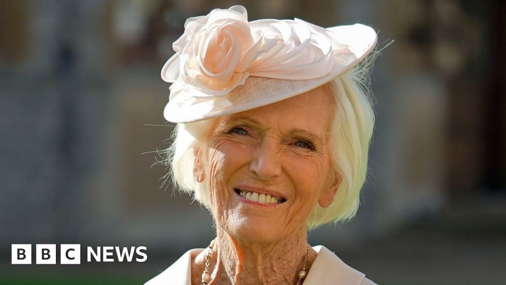 Mary Berry: TV chef 'proud' to be made a dame