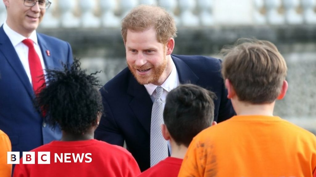 Prince Harry on first royal duty since talks with Queen