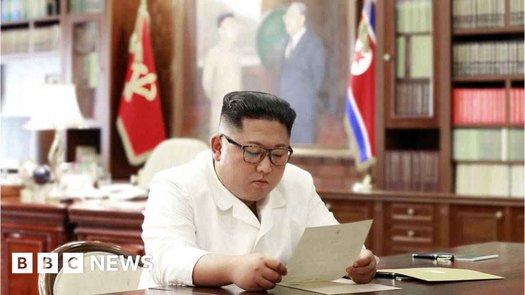 Kim Jong-un receives 'excellent' letter from Trump thumbnail