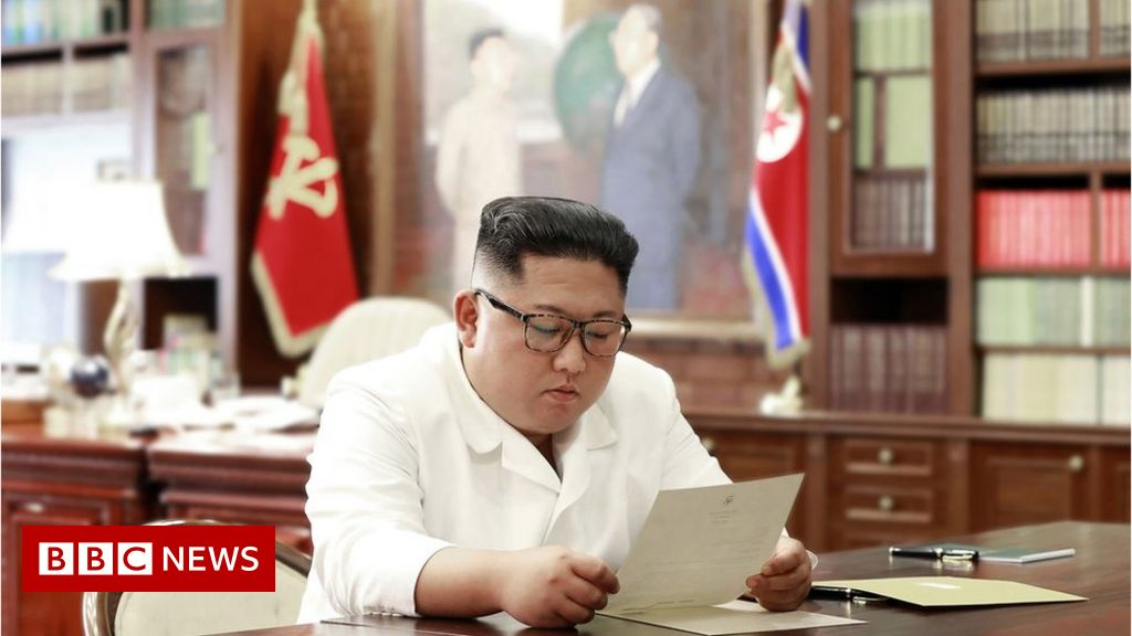 Kim Jong-un receives 'excellent' letter from Trump thumbnail