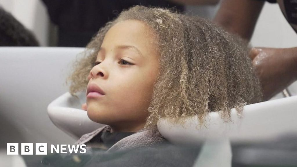 teaching how to care for afro hair bbc news