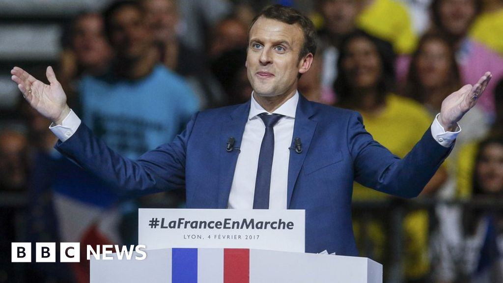 France Election Macron Laughs Off Gay Affair Rumours Bbc News