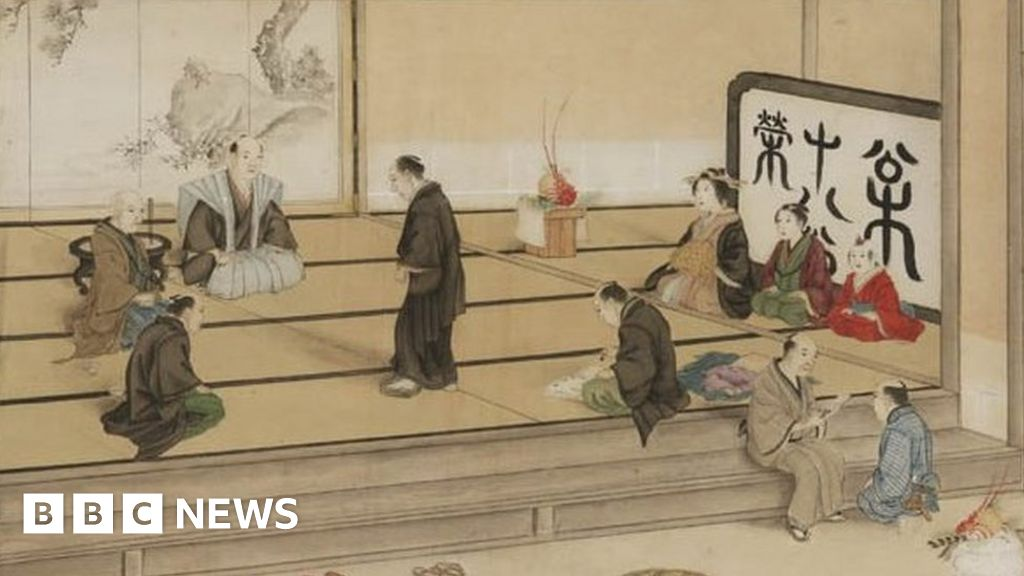 The Japanese Christians forced to trample on Christ