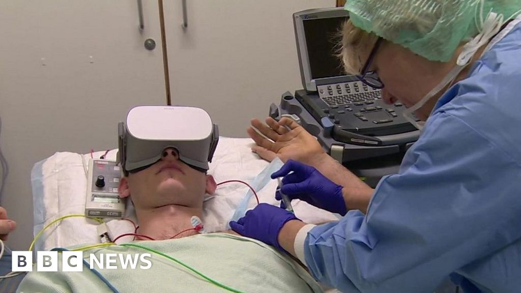 Virtual reality takes the stress out of surgery