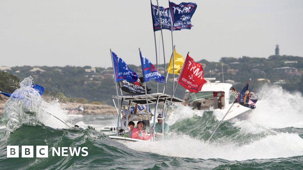 Lake Travis: Several boats sink at pro-Trump parade in Texas thumbnail