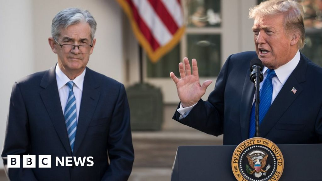 Trump responds with fury over Fed chief's speech