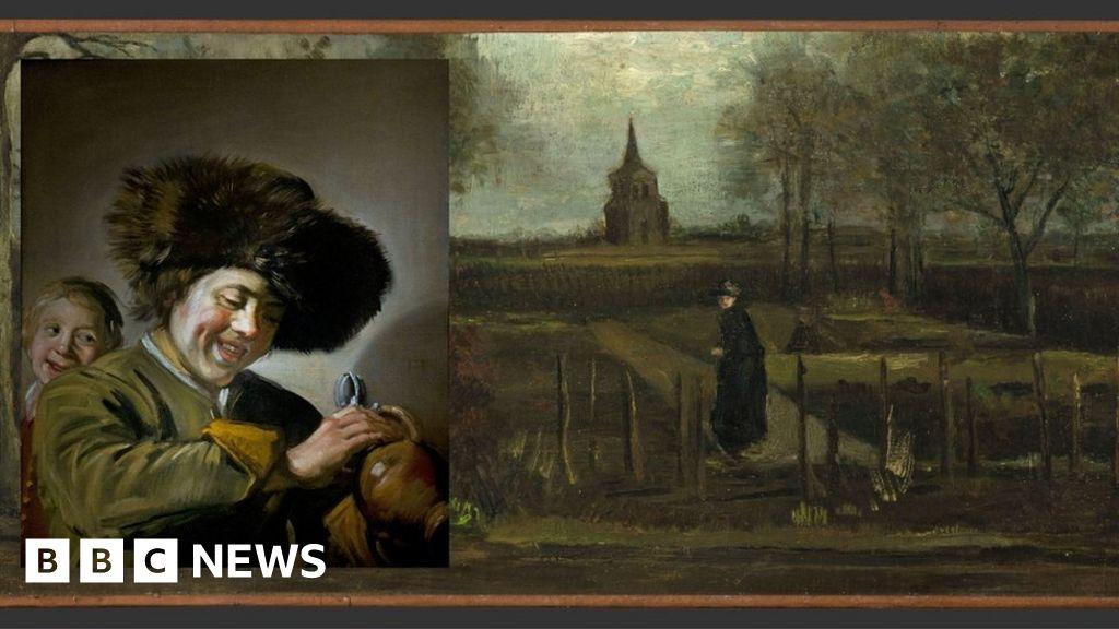 Dutch arrest over Van Gogh and Frans Hals museum thefts
