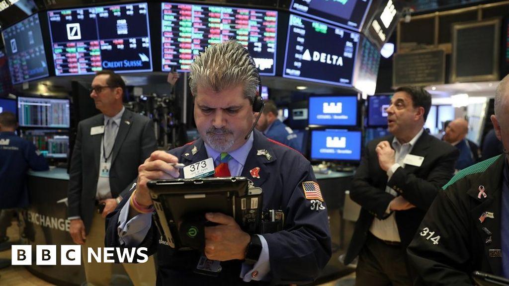 Markets fall as trade war fears mount