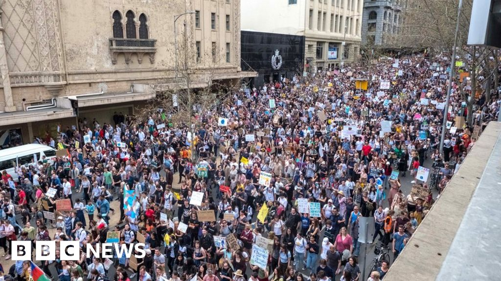 In pictures: Global climate strike
