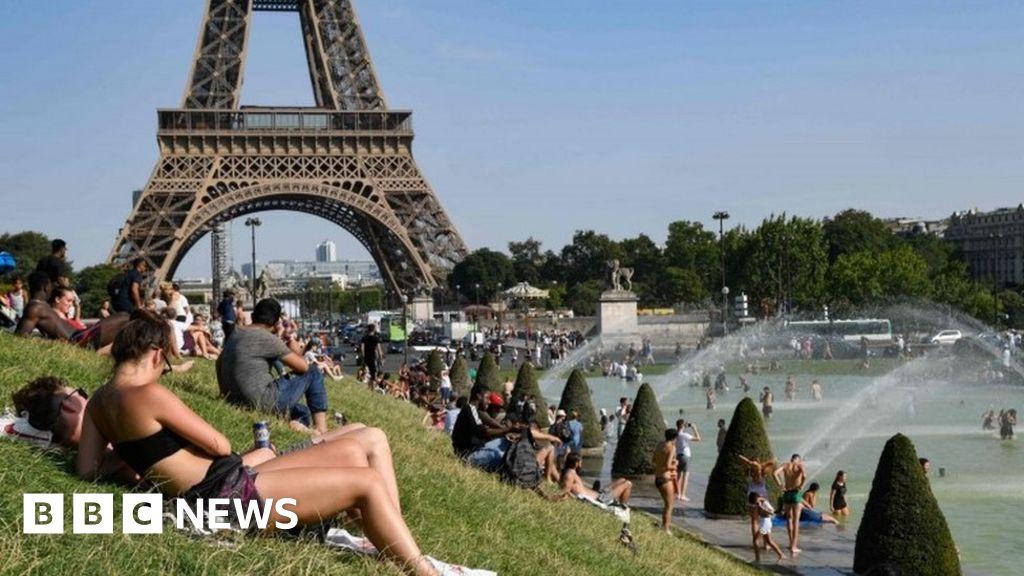 Belgium feels heat as record temperature is broken