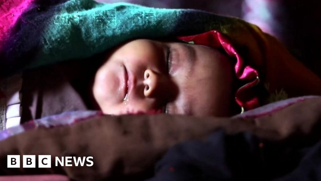 'Forced to sell my baby  - Afghan families face extreme poverty