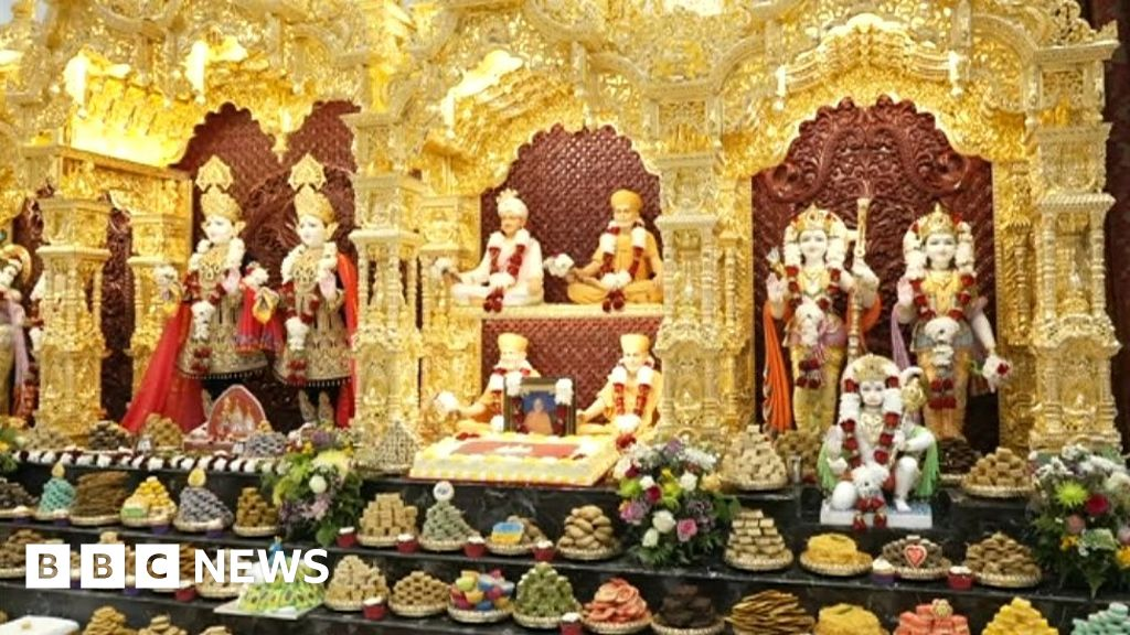 Celebrations for new Hindu temple in Birmingham