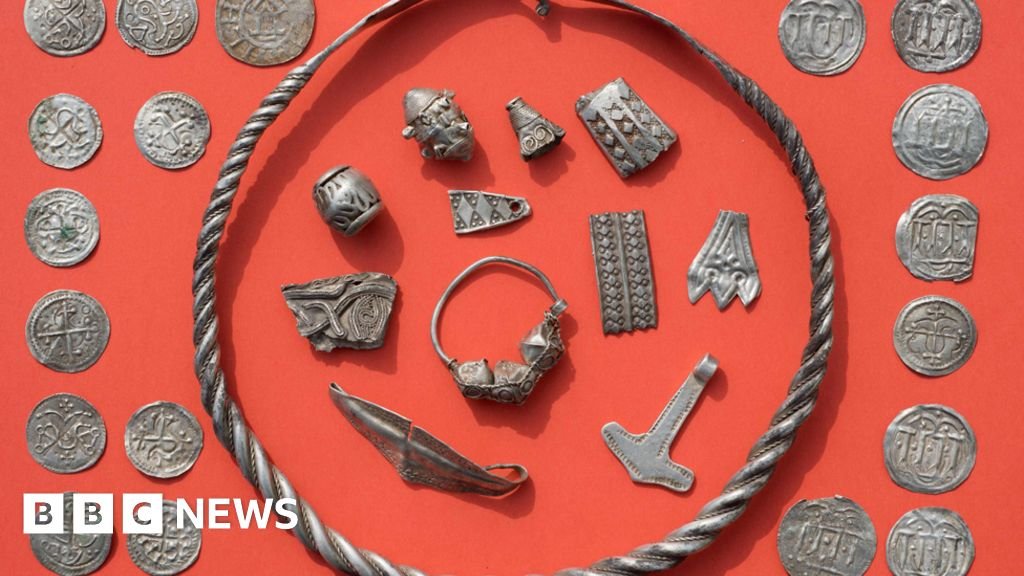 Germans find 'Harald Bluetooth' treasure