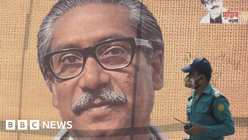 Sheikh Mujibur Rahman: officer in the army hanged for the murder of Bangladesh s founding President