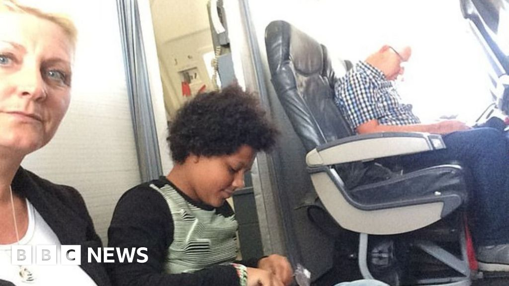 Family had to sit on floor of TUI plane