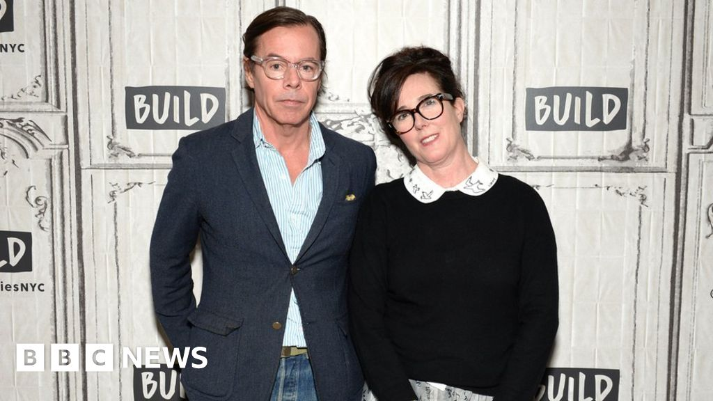 Kate Spade's father dies as she is buried