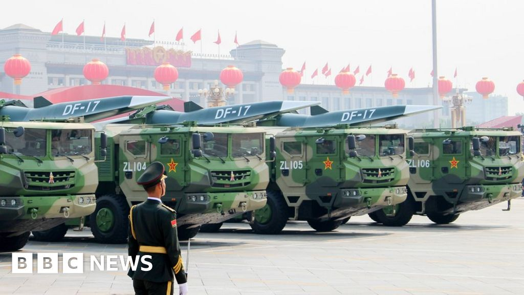 China denies it tested nuclear-capable hypersonic missile