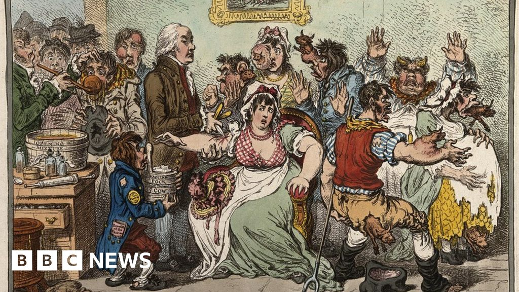 The anti-vaccination movement, grabbed Victorian England
